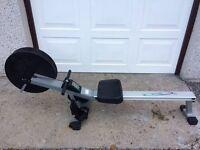 V Fit Air rowing machine