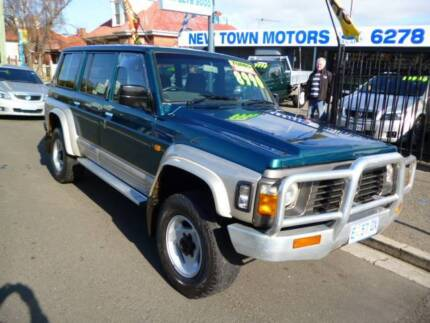 1996 Nissan Patrol Wagon New Town Hobart City Preview