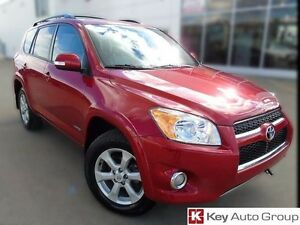 2012 Toyota Rav4 Limited 4x4 with Push Button Start Navigation $