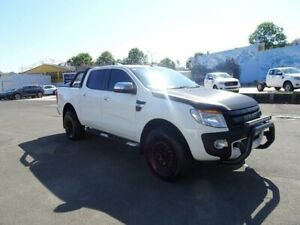 2014 Ford Ranger PX XLT Double Cab Cool White 6 Speed Sports Automatic Utility Nowra Nowra-Bomaderry Preview