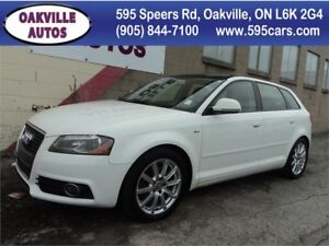 2010 Audi A3 2.0T Premium S-LINE AUTO PANO AWD SAFETY INCL