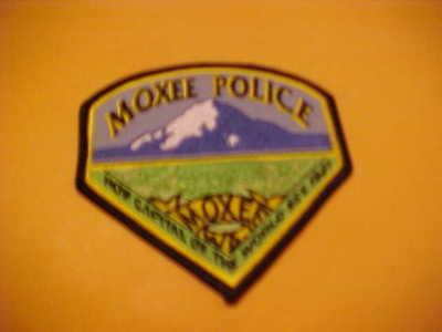 MOXIE WASHINGTON POLICE PATCH SHOULDER SIZE UNUSED