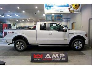 2012 Ford F-150 FX4  3.5L LEATHER SUNROOF BTOOTH LARIAT CAMERA