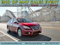 2013 NISSAN SENTRA! WE FINANCE EVERYONE! CASH OFFERS WELCOME!