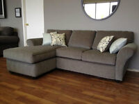 OUR BEST BUY!!  - LOVESEAT & CHAISE SECTIONAL for only $888
