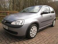 Vauxhall Corsa Active 12v 3dr PETROL MANUAL 2003/52