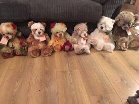 Charlie bears including very rare limited edition bears bulk buy or individually sold