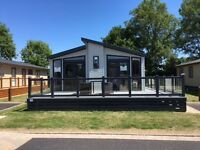Static caravan lodge for sale on the NEW ASPEN DEVELOPMENT at Hoburne Bashley, New Forest, Hampshire