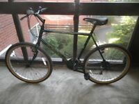 Large Gents Raleigh Bike ( road tyres fitted )