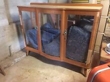 Retro vintage display cabinet Federal Byron Area Preview