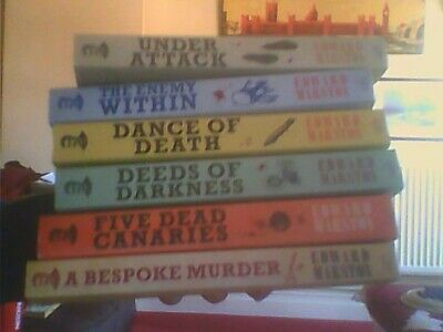 6 Home Front Detective Series-Edward Marston Paperback Allison & Busby 2012-18