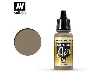 Vallejo 17ml MA118 Model Air 118 Camouflage Grey RAL7027