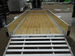 6X12 ALUMINUM UTILITY - SOLID SIDES, BI-FOLD GATE - SPECIAL! London Ontario image 10