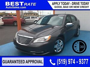 CHRYSLER 200 LTD - APPROVED IN 30 MINUTES! - ANY CREDIT LOANS