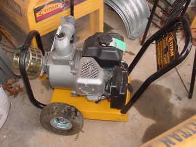 Titan Industrial Commercial Trash Pump 3 6 Hp Gas Heavy Duty Portable Newold
