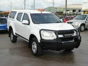 2015 Holden Colorado RG MY16 LS (4x2) White 6 Speed Automatic Crew Cab Pickup Brendale Pine Rivers Area Preview