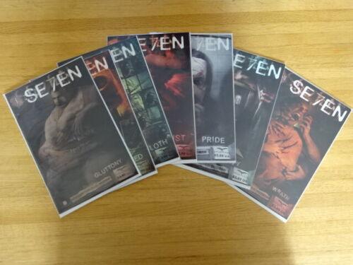 RARE COMPLETE SET OF SEVEN (SE7EN) COMIC BOOKS! ZENESCOPE!