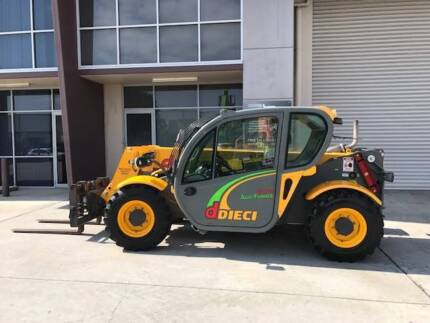 Dieci 30.7TC with Forks, 3 Tonne, 7 Metre 2011 model