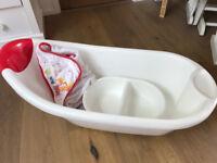 Mothercare bath set, RRP £35, Bargain £15