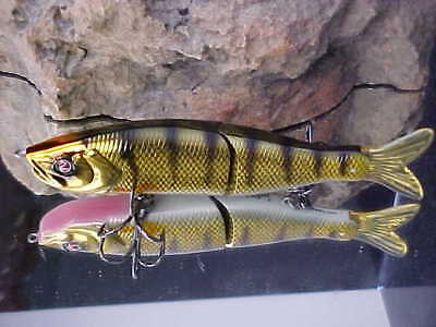 "River2Sea 6 3/4"" 1 5/8oz S-WAVER SW168S/12 Swimbait Lure for BassN. Pike/Muskie"