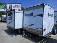 **LIGHTWEIGHT! **COUPLES+! **LEATHER! **TRAVEL TRAILER FOR SALE!