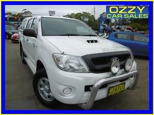 2011 Toyota Hilux KUN26R MY11 Upgrade SR (4x4) Glacier White 5 Speed Manual Dual Cab Pick-up Penrith Penrith Area Preview