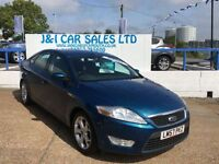 FORD MONDEO 1.8 ZETEC TDCI 5d 125 BHP www.jandicarsplymouth.co (blue) 2008