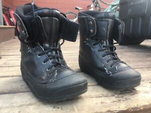 snowboard boots (size 10)