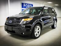 2013 Ford Explorer Limited, 4WD, 3.5L V6, Leather, Power Third R