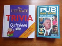 6 Quiz and Fact Books [first 4 in excellent condition, hardly used] - £3 the Lot
