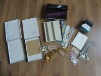 Paper based stationery - selection of items