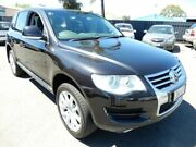 2008 Volkswagen Touareg 7L MY08 V6 TDI 4Xmotion Black 6 Speed Sports Automatic Wagon Enfield Port Adelaide Area Preview