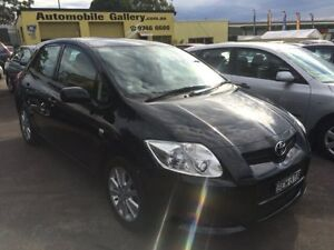 2007 Toyota Corolla . Conquest Black 4 Speed Automatic Hatchback Homebush Strathfield Area Preview