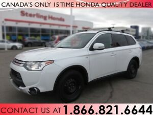 2015 Mitsubishi Outlander SE | WINTER TIRES | 4WD | NO ACCIDENTS