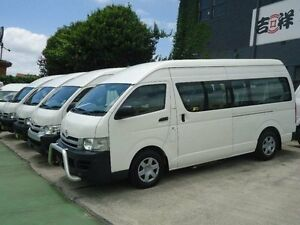 2009 Toyota Hiace KDH223R MY07 Upgrade Commuter White 4 Speed Automatic Bus Canada Bay Canada Bay Area Preview