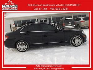 2008 Mercedes-Benz C-Class 2.5L LOW KMS $14900