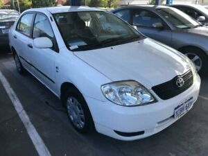 2002 Toyota Corolla ZZE122R Ascent 4 Speed Automatic St James Victoria Park Area Preview