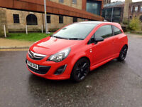 VAUXHALL CORSA 2014(64) 1.2 LIMITED EDITION RED 20K MILES