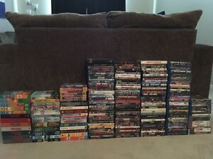 BLU-RAYS/DVDs/VIDEO GAMES