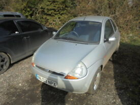 Ford Ka Style (silver) 2003