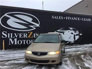 2002 Honda Odyssey,only120kms,new timing belt,new brakes!