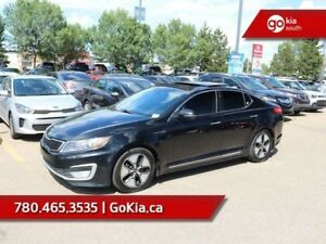 2013 Kia Optima Hybrid HYBRID PREMIUM; LOADED, NAV, LEATHER, SUN