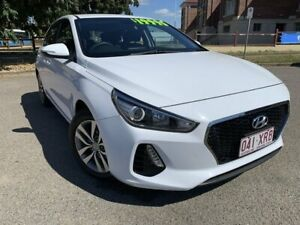 2017 Hyundai i30 PD MY18 Active Polar White 6 Speed Sports Automatic Hatchback Townsville Townsville City Preview