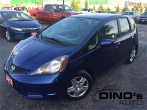 2013 Honda Fit LX | $62 Weekly $0 Down *OAC / Auto / A/C