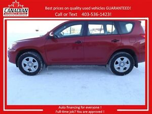 2009 Toyota RAV4 AWD Low kms Financing Available !!