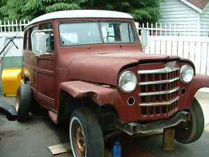 jeep willys  pick up  ou   wagon