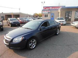 2010 CHEVROLET MALIBU LT 4 CYL AUTO AC CLEAN EASY CAR FINANCING