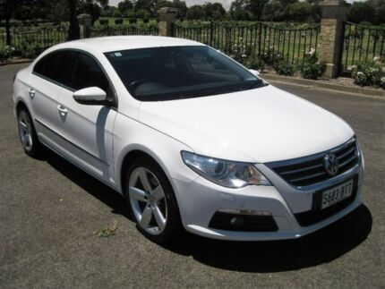 2012 Volkswagen Passat Type 3CC MY12 125TDI DSG CC White 6 Speed Sports Automatic Dual Clutch Coupe Enfield Port Adelaide Area Preview