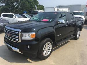2017 GMC Canyon crew 4WD SLT black on black fully loaded