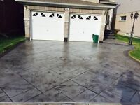 Stamped and Patterned Concrete Driveways (Special Spring offer)